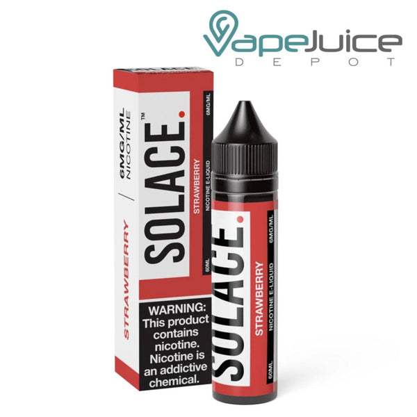 Solace Strawberry eLiquid 60ml - Vape Juice Depot