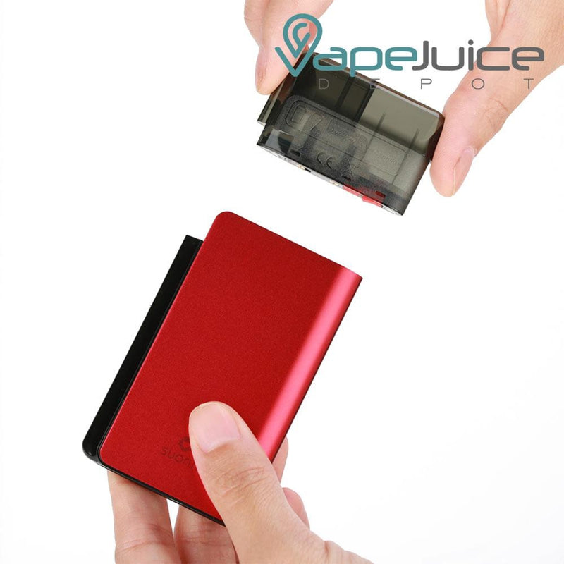 Suorin Air PLUS Replacement Pod how to insert - Vape Juice Depot