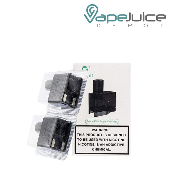 Suorin Elite Replacement Pods - Vape Juice Depot