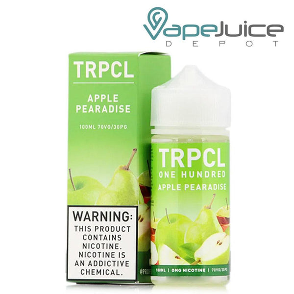 TRPCL One Hundred Apple Pearadise - Vape Juice Depot