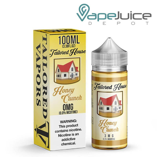 Tailored House Honey Crunch eLiquid 100ml - VapeJuiceDepot