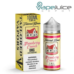 Tailored House Strawberry Crunch eLiquid 100ml - VapeJuiceDepot
