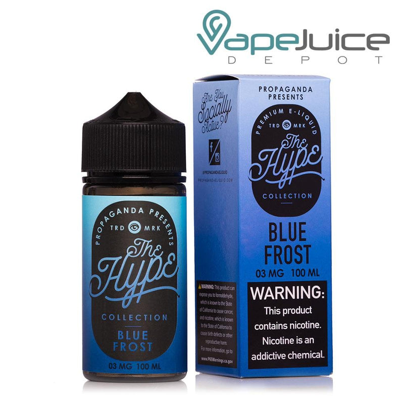 Propaganda The Hype Blue Frost eLiquid 100ml - Vape Juice Depot