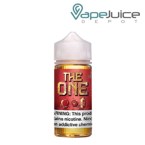 The One Apple Cinnamon Donut eLiquid 100ml - Vape Juice Depot