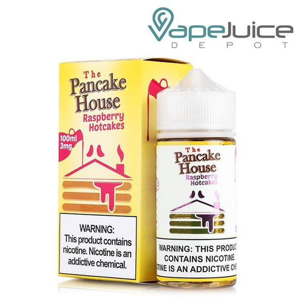 The Pancake House Raspberry Hotcakes - Vape Juice Depot