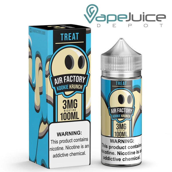Treat Factory Kookie Krunch e-Liquid 100ml - FREE Shipping