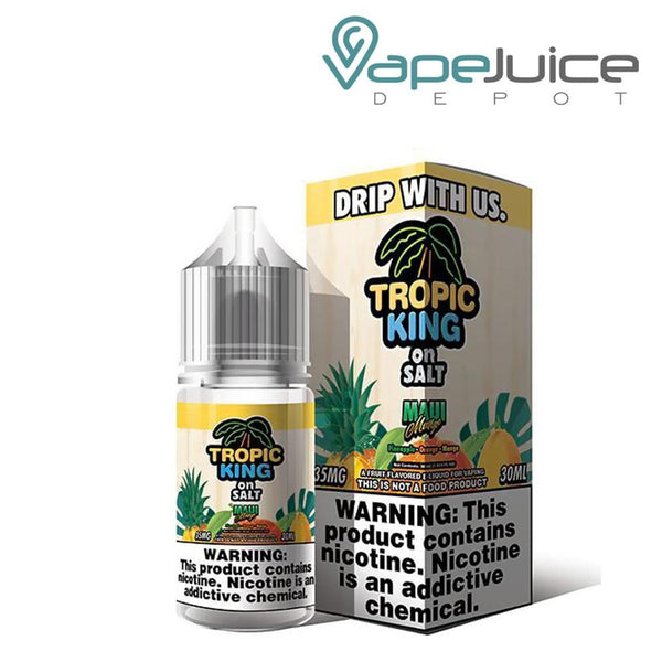 Tropic King Maui Mango On Salt e-Liquid - VapeJuiceDepot