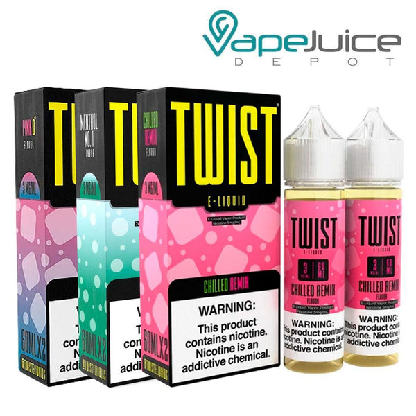 Twist Iced Bundle E-Liquid 120ml - Vape Juice Depot