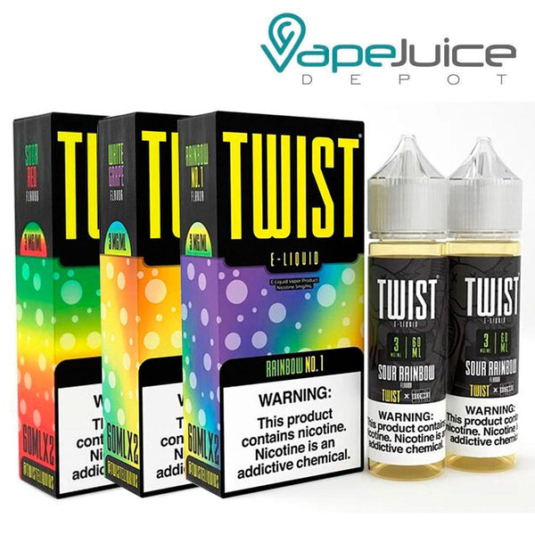 Twist Sour Bundle E-Liquid 120ml - Vape Juice Depot