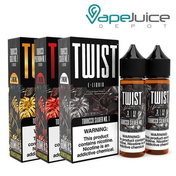 Twist Tobacco Bundle E-Liquid 120ml - Vape Juice Depot