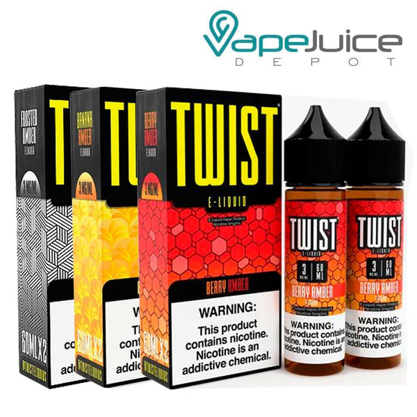 Twist Treat Bundle E-Liquid 120ml - Vape Juice Depot