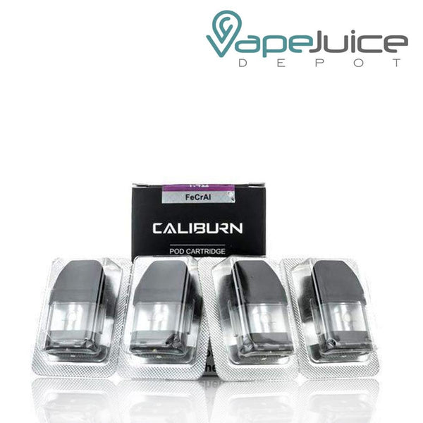 UWELL Caliburn Replacement Pods - VapeJuiceDepot