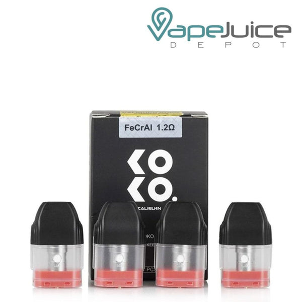 UWELL Caliburn KOKO Refillable Pods - Vape Juice Depot