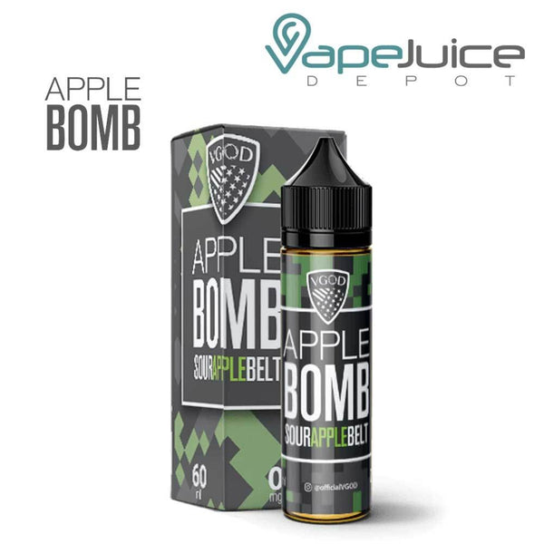 VGOD Apple Bomb e-Liquid 60ml - VapeJuiceDepot