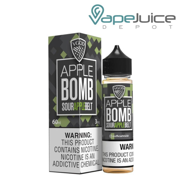 VGOD Apple Bomb e-Liquid | 60ml - Vape Juice Depot