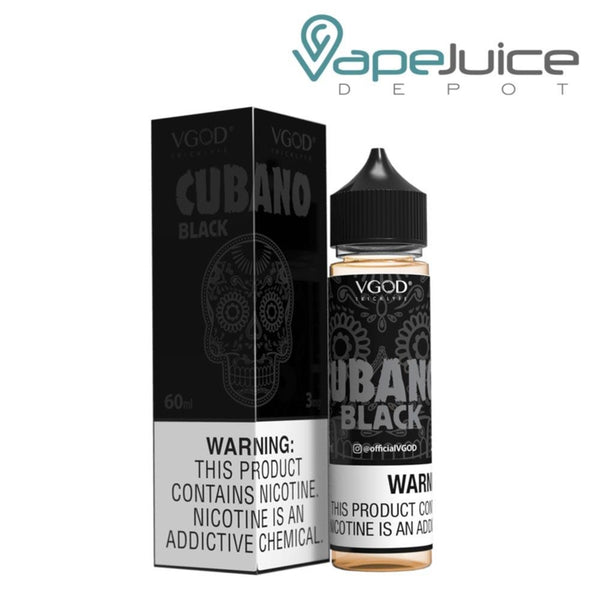 VGOD Cubano Black e-Liquid 60ml - FREE Shipping