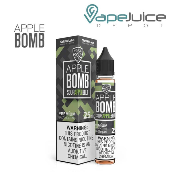 VGOD SaltNic Apple Bomb eLiquid 30ml - VapeJuiceDepot