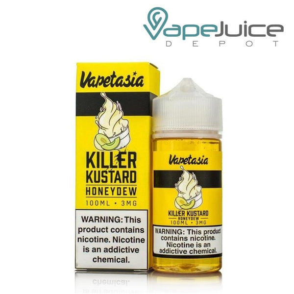 Vapetasia Killer Kustard Honeydew eLiquid 100ml - Vape Juice Depot