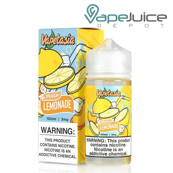Vapetasia Lemonade Peach eLiquid 100ml - VapeJuiceDepot