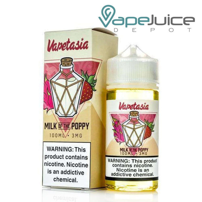 Vapetasia Milk Of The Poppy e-Liquid 100ml - VapeJuiceDepot