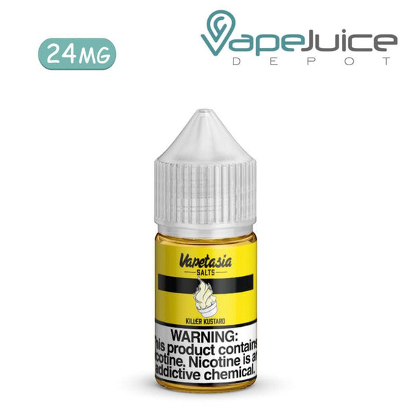 Vapetasia Salts Killer Kustard 30ml - Vape Juice Depot