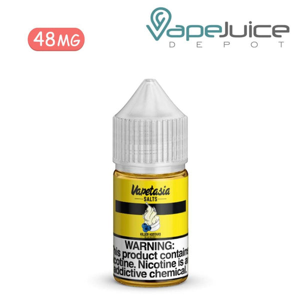 Vapetasia Salts Killer Kustard Blueberry 24mg - VapeJuiceDepot