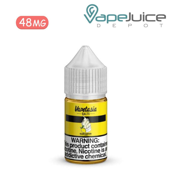 Vapetasia Salts Killer Kustard Lemon 24mg - VapeJuiceDepot