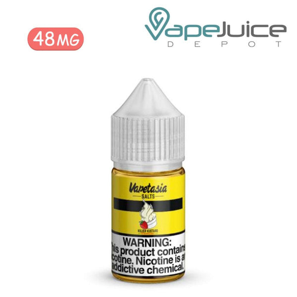 Vapetasia Salts Killer Kustard Strawberry 24mg - VapeJuiceDepot