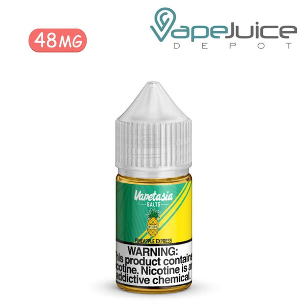Vapetasia Salts Pineapple Express 48mg - VapeJuiceDepot