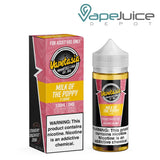 Vapetasia Milk Of The Poppy eLiquid 100ml - Vape Juice Depot