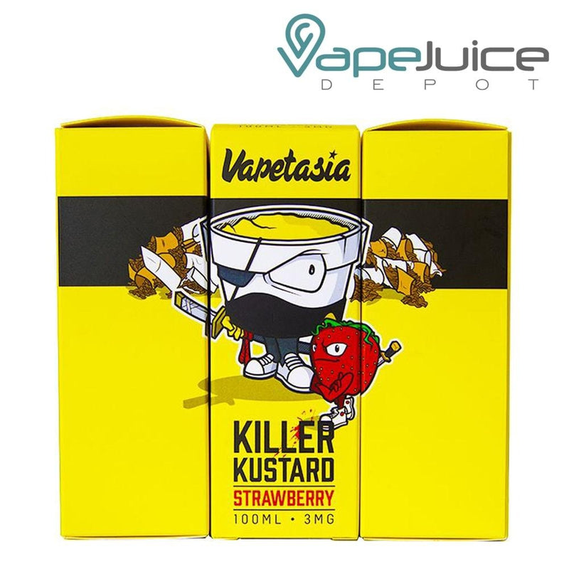 Vapetasia Killer Kustard Strawberry 100ml VapeJuiceDepot