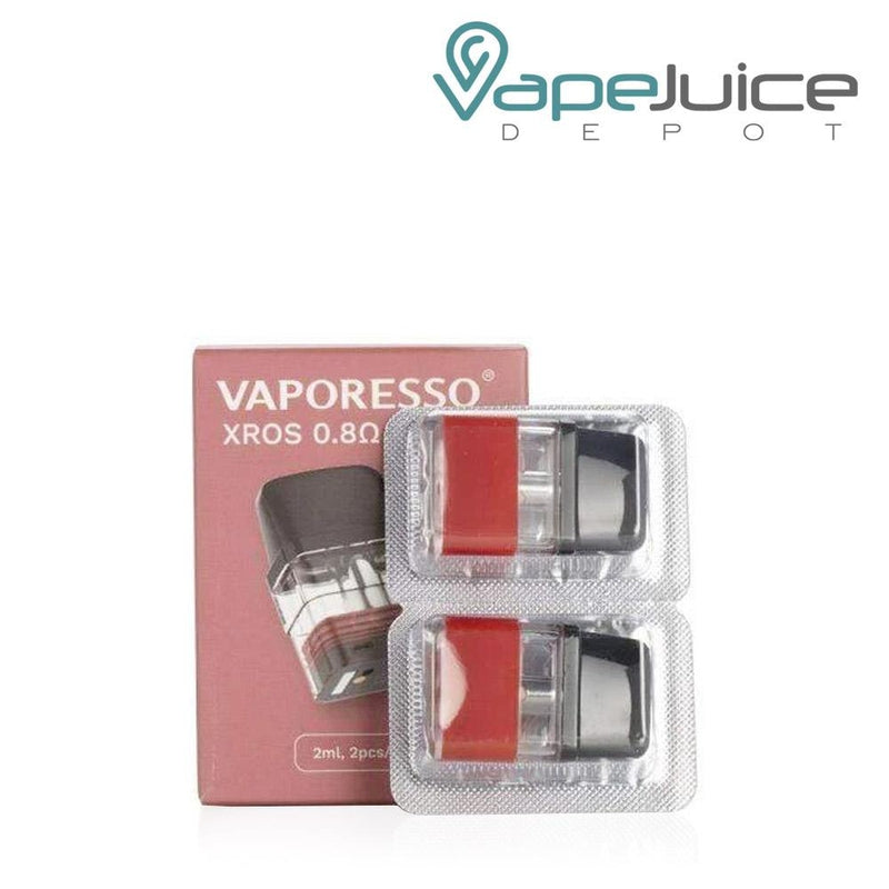 Vaporesso XROS Replacement Pods 0.8ohm - Vape Juice Depot
