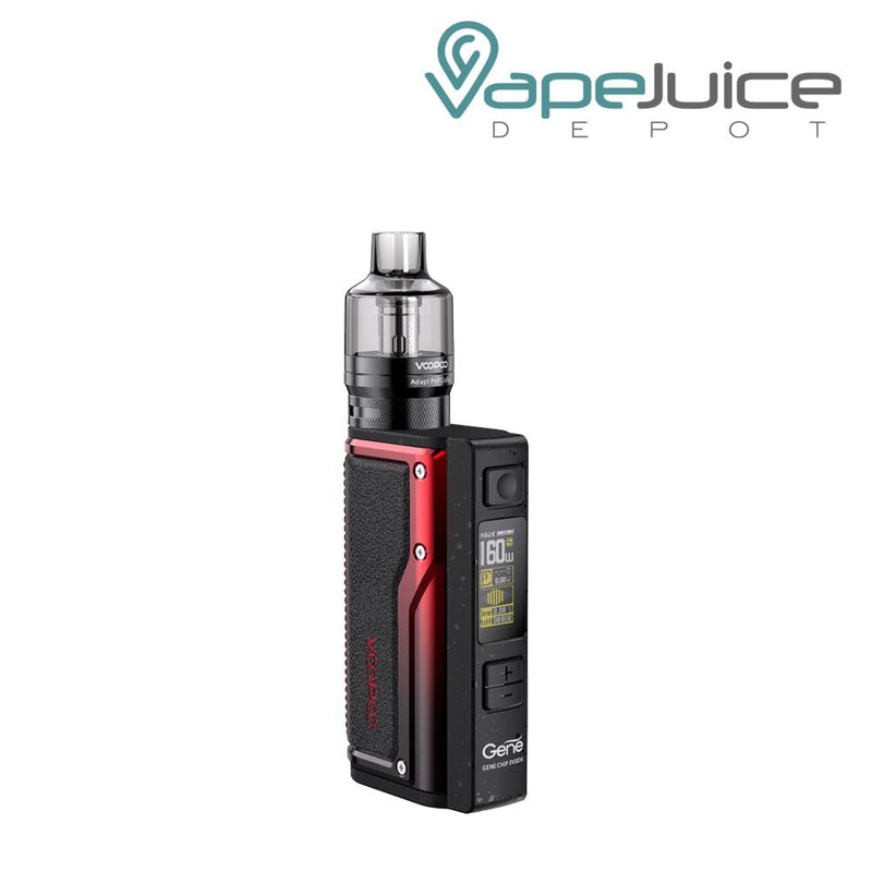 VooPoo ARGUS GT Starter Kit Black Red - Vape Juice Depot