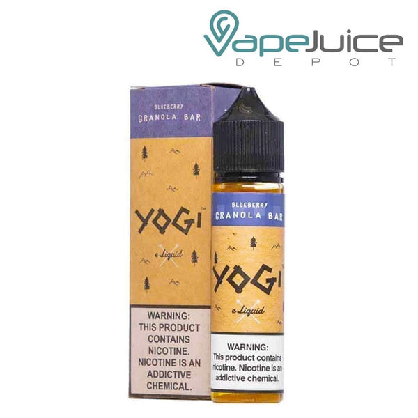 YOGI Blueberry Granola Bar e-Liquid 60ml - Vape juice Depot