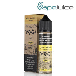 YOGI Farms Pineapple eLiquid 60ml - VapeJuiceDepot