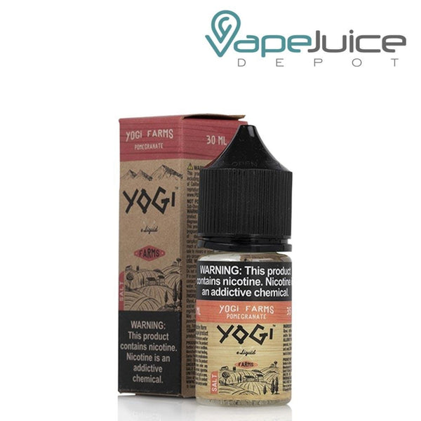 Yogi Farms Salt Pomegranate eLiquid - Vape Juice Depot
