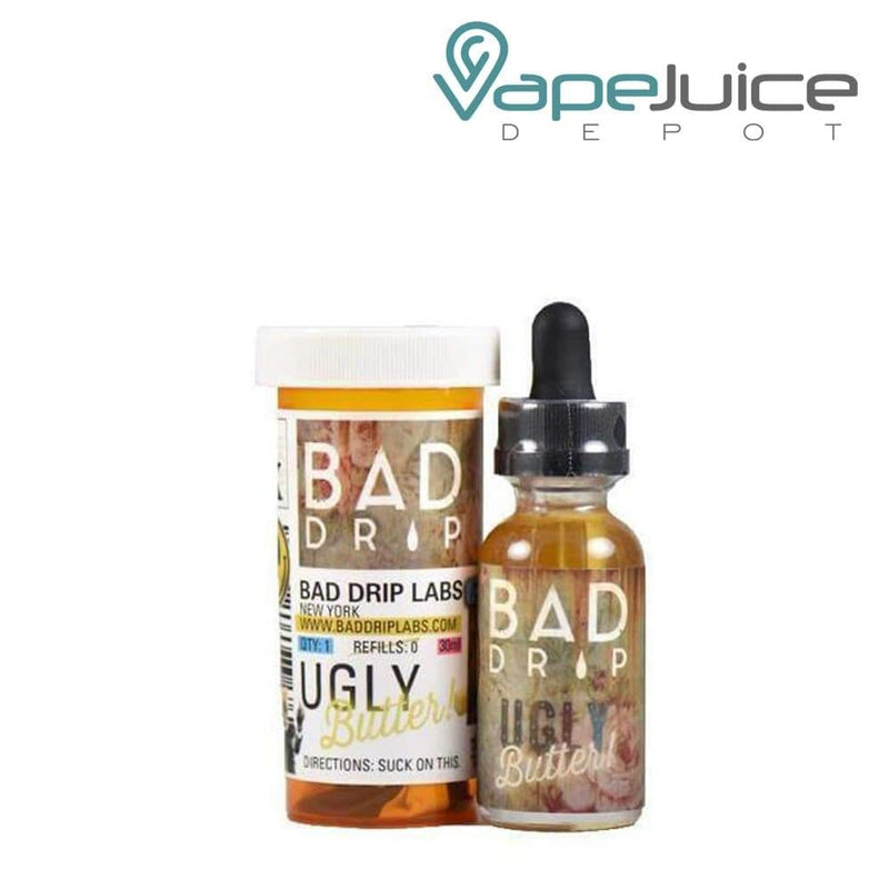 Bad Drip Salts Ugly Butter 30ml - VapeJuiceDepot