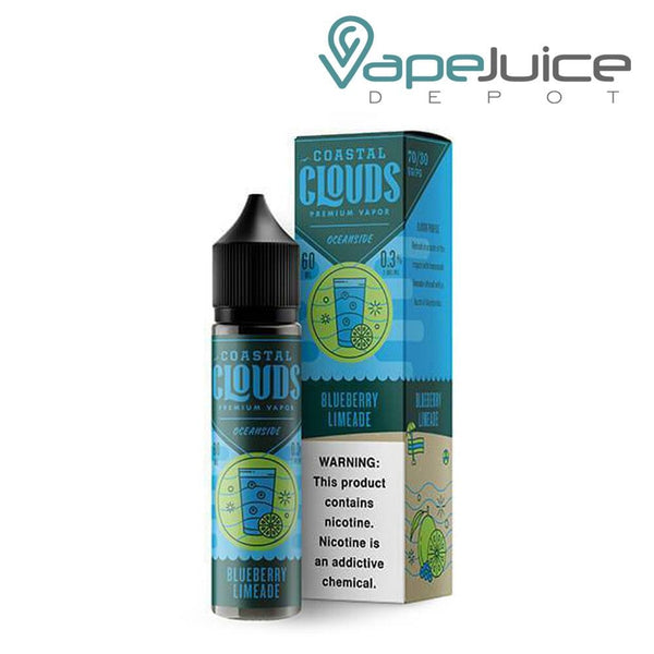 Coastal Clouds Blueberry Limeade eLiquid 60ml - Vape Juice Depot