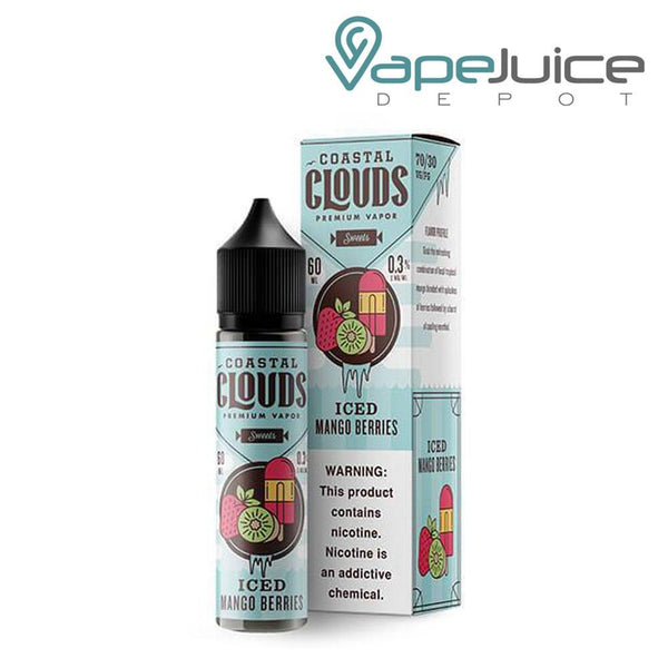 Coastal Clouds ICED Mango Berries eLiquid 60ml ❄️ - Vape Juice Depot
