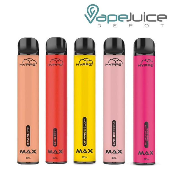 HYPPE MAX Disposable Device - Vape Juice Depot