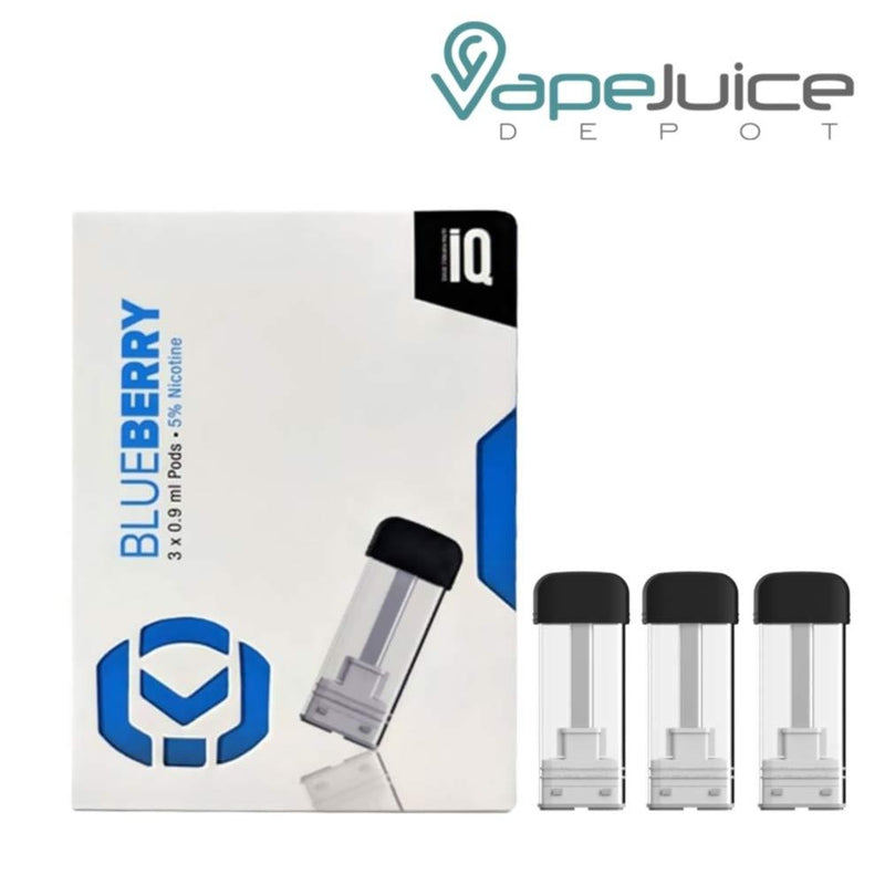 iQ Level Pods Blueberry by Hangsen - VapeJuiceDepot