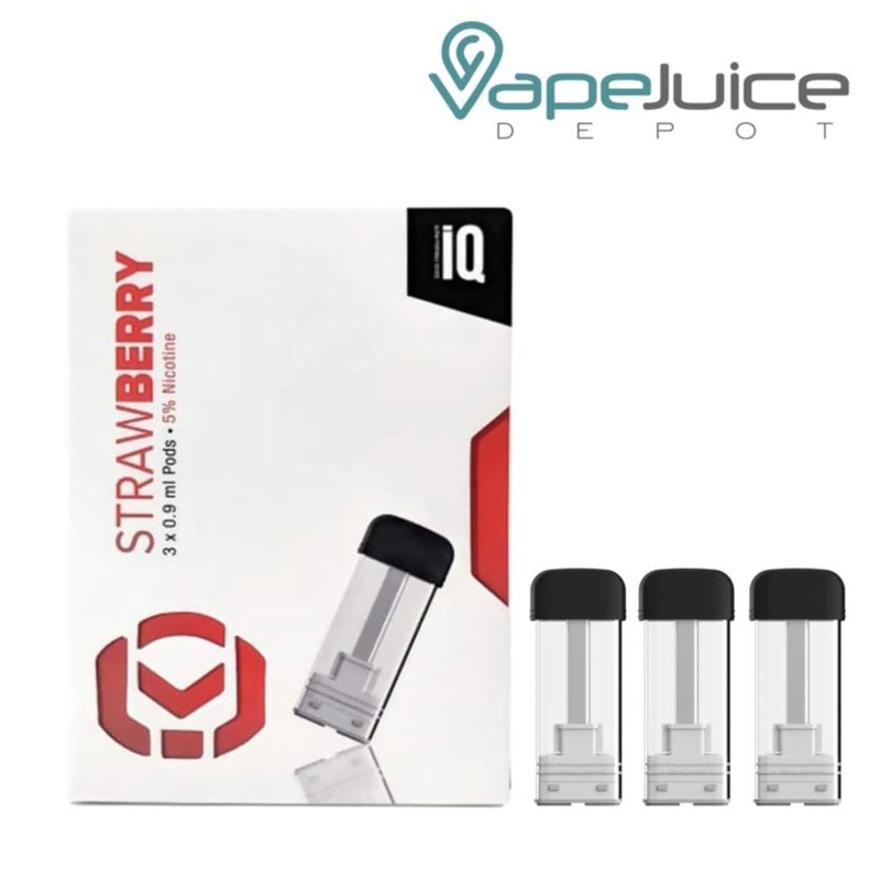 iQ Level Pods Strawberry by Hangsen - VapeJuiceDepot