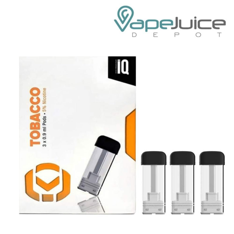 iQ Level Pods Tobacco by Hangsen - VapeJuiceDepot