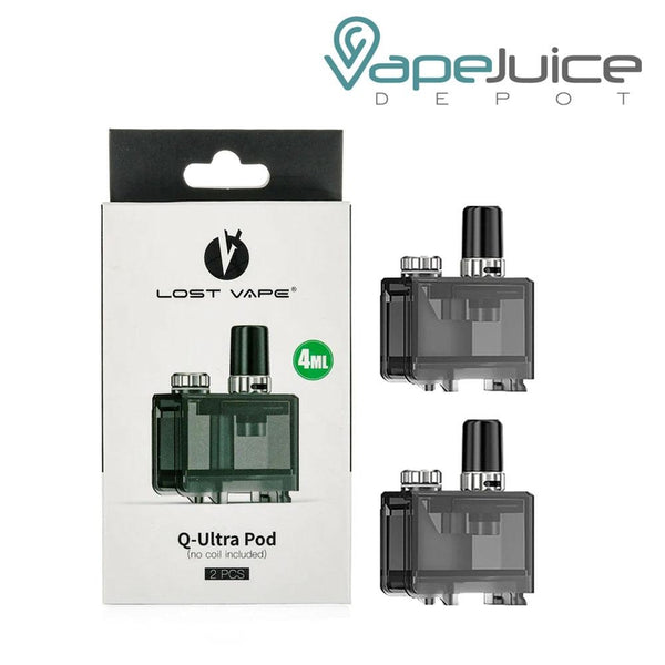 Lost Vape Orion Q-Ultra Replacement Pods - Vape Juice Depot