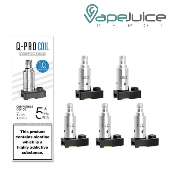 Lost Vape Orion Q-PRO Replacement Coils - Vape Juice Depot