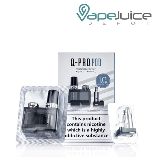 Lost Vape Orion Q-PRO Replacement Pod - Vape Juice Depot