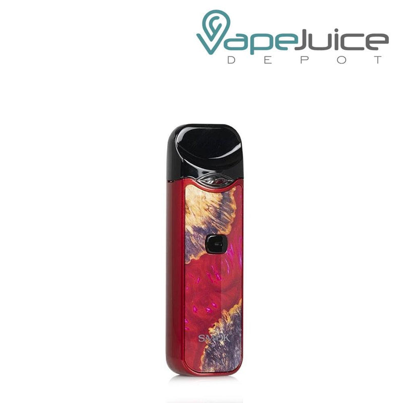 SMOK NORD Stabilizing Wood Red Device - Vape Juice Depot