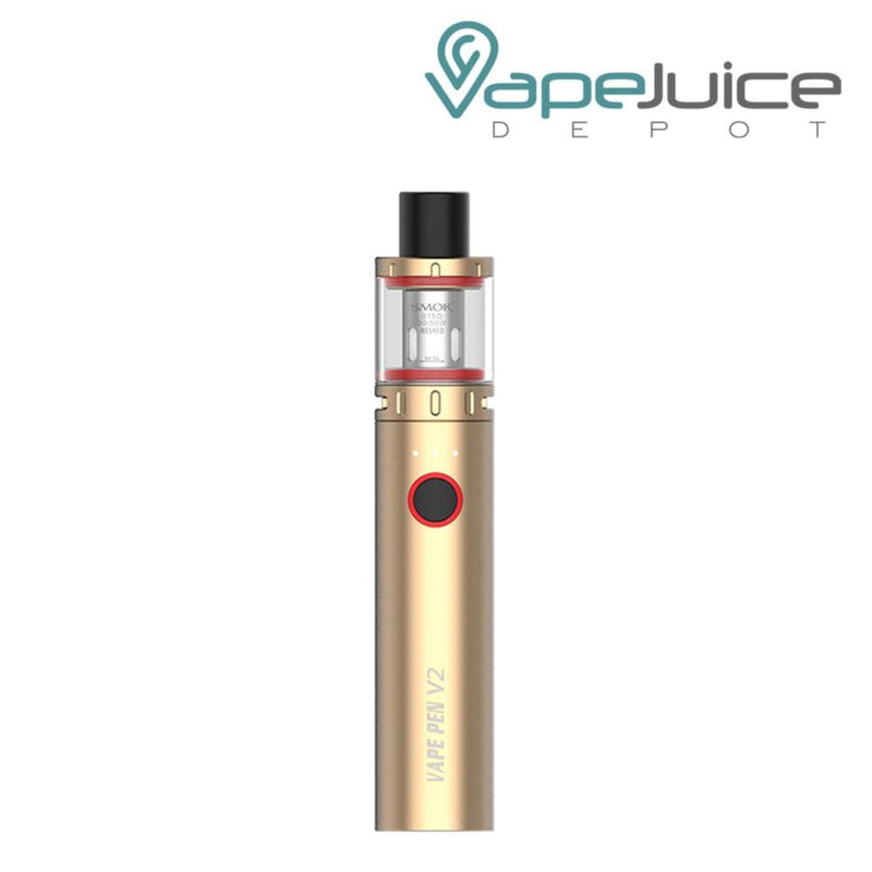 SMOK Vape Pen V2 Kit Gold - Vape Juice Depot