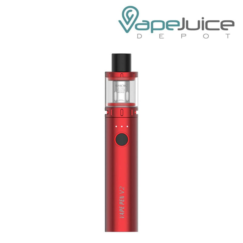 SMOK Vape Pen V2 Kit Red - Vape Juice DEpot