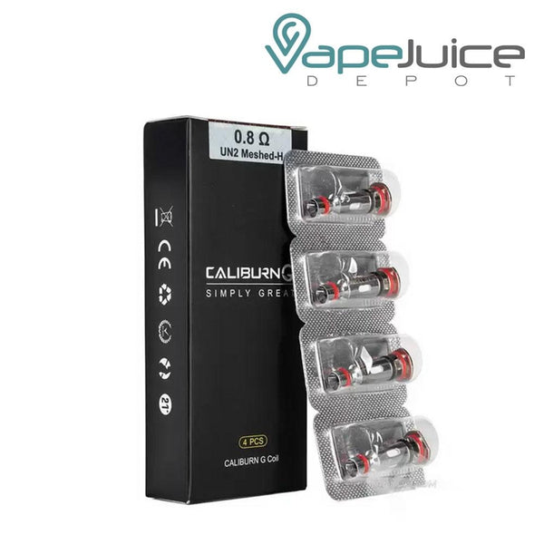 UWELL Caliburn G Replacement Coils - Vape Juice Depot
